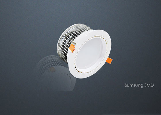 Super Brightness 15 Watt Dimmable LED Downlights 5630 SMD SAA CE RoHS Certification