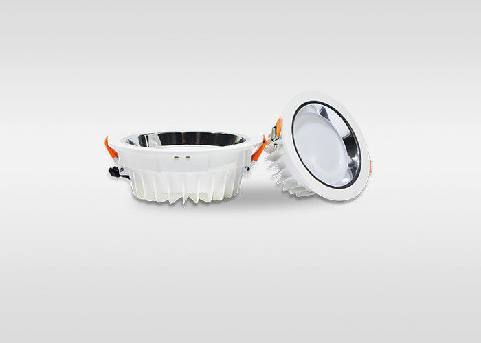 High Power 15W 5 Inch Commercial Led Recessed Downlights Retrofit Waterproof IP20