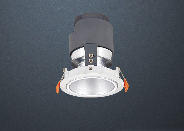 COB 7W Commercial Led Recessed Downlights With 20° / 40° / 60° Viewing Angle