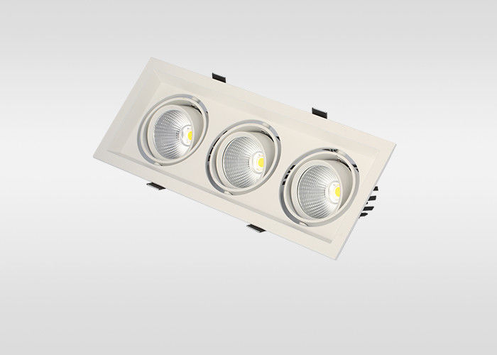 3 Years Warranty Commercial Recessed Led Downlight Black Led Ceiling Lights