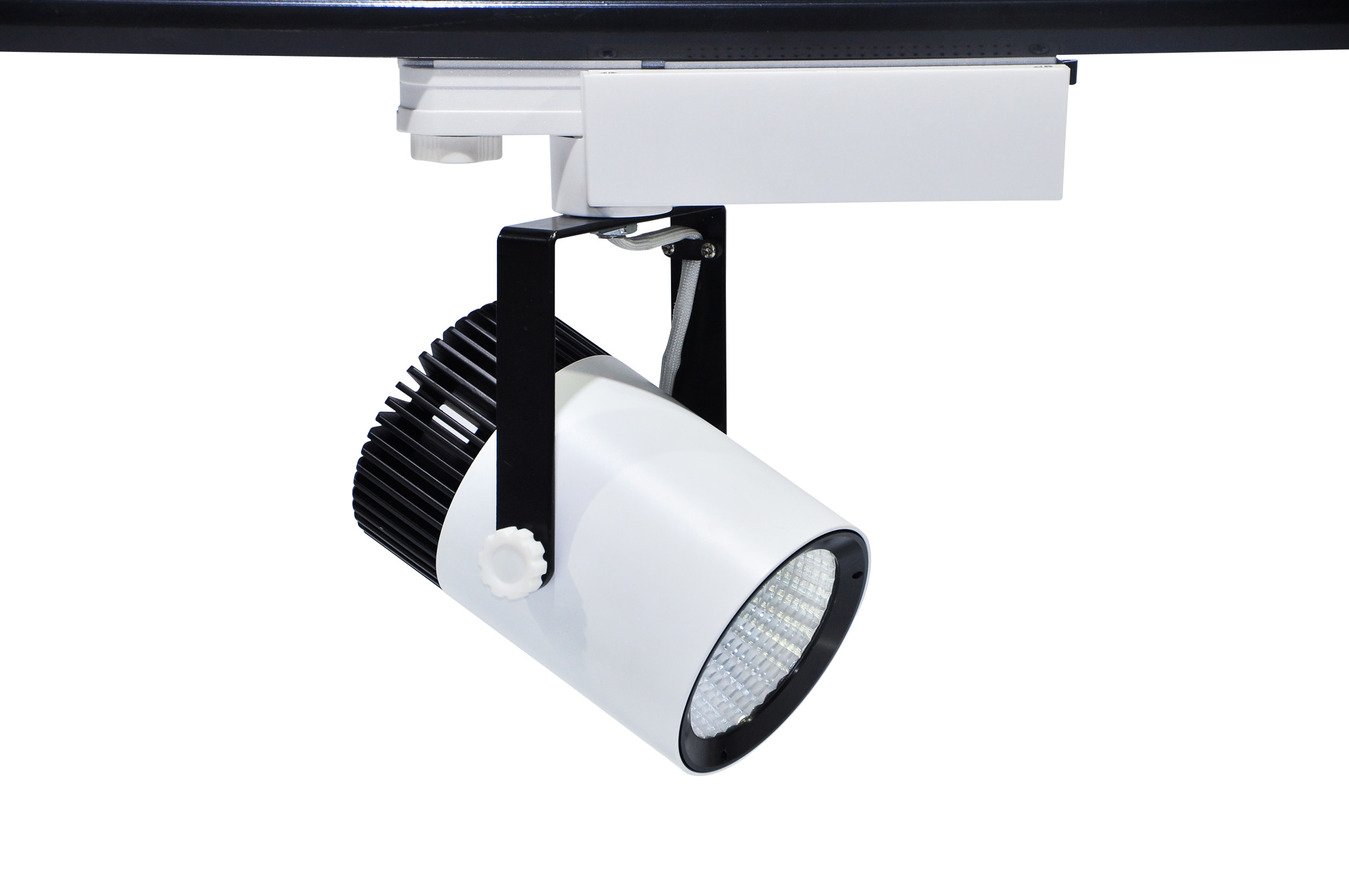 LED Waterproof Dimmable Led Track Lighting With 3 / 4 Phase Wire ...