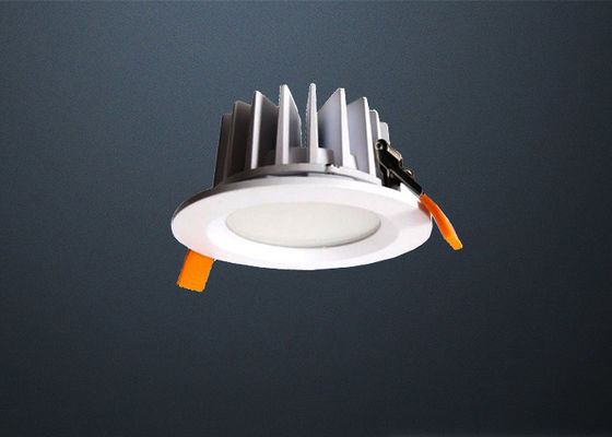 D95 * H51mm Dimmable IP65 LED Downlights With Clear Glass 5W Environment Friendly